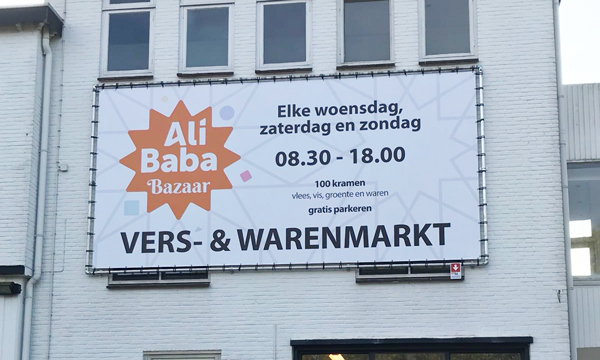 Ali Baba Bazaar in Tiel opent 18 november